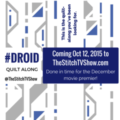 Announcing the #DroidQuiltAlong !