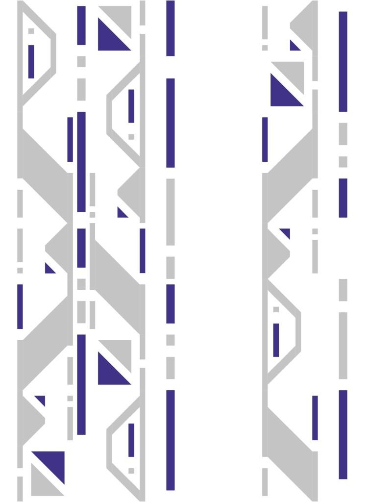 Droid Quilt Along R2D2 Colorway