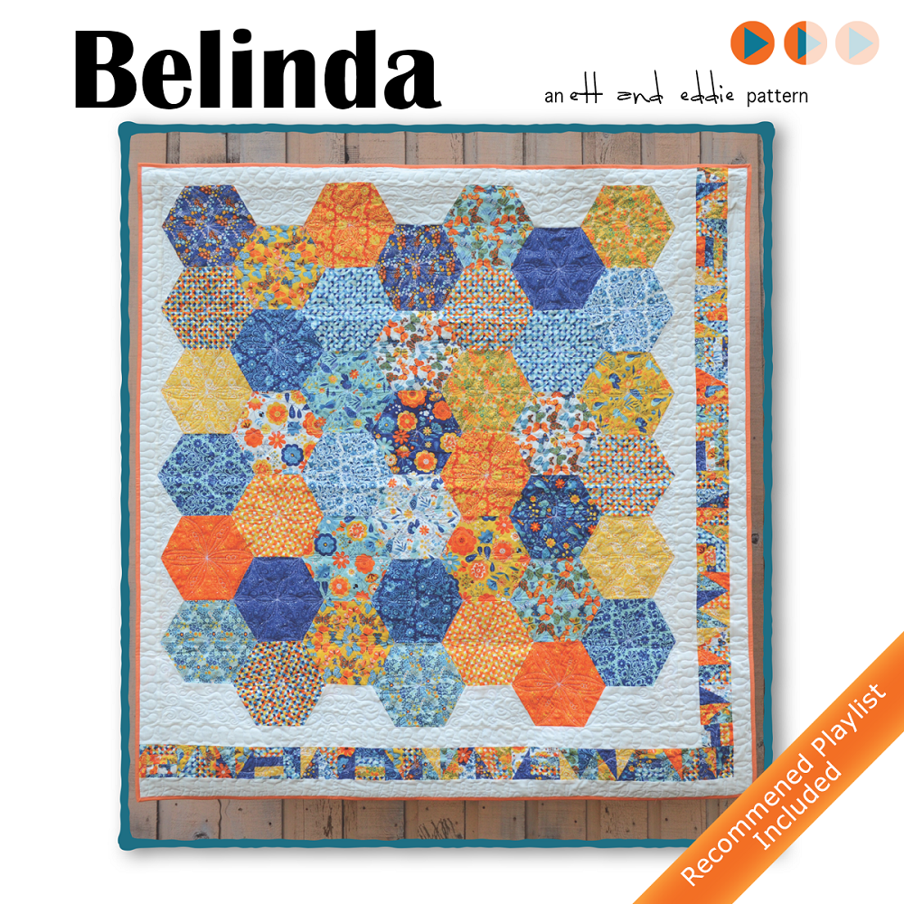 Welcome To The Final Installment Of Blogging Belinda Quilt Series As We Walk Through Tips And Inspiration Make This Giant Hexagon