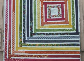 Introducing the You Spin Me Right Round Quilt!