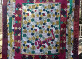 Saying Yes to The Nope! Quilt