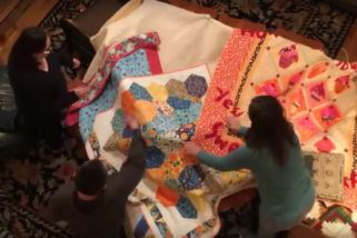 From Inside the Quilt Fort