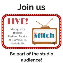 Attend a Live Taping of The Stitch TV Show March 25!