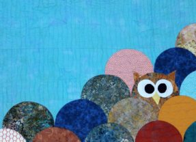 "Make the ""Whooo Loves You"" Clamshell Owl Quilt"