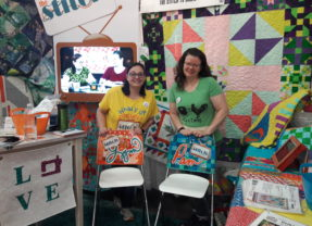 Find The Stitch TV Show at 2019 Fall Quilt Market and Festival