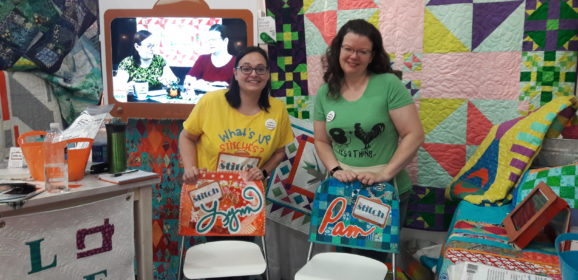 Daily Blogging Challenge (and Quilt Market and Festival Recap)
