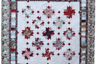 Cutting Jelly Roll Strips for the Lucky Star Quilt