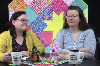 409: Quilted Pillows and Tips for Working with Print Fabrics