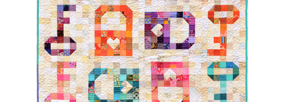 Introducing the Keys to My Heart Quilt!