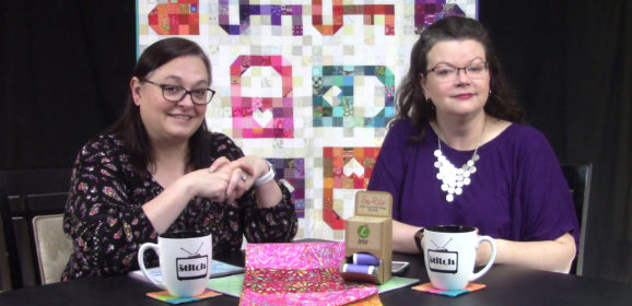 419: Scrappy Quilts and Machine Embroidery