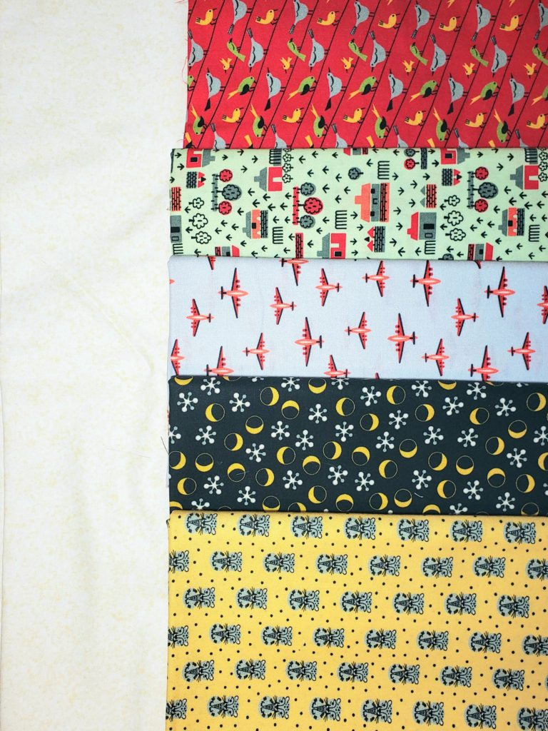Retro Minis Fabric Bundle