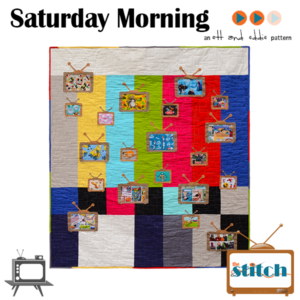 PA-125 Saturday Morning Retro Television Quilt Pattern
