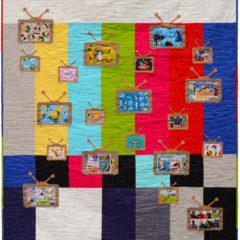 Saturday Morning – A Television Retro Quilt
