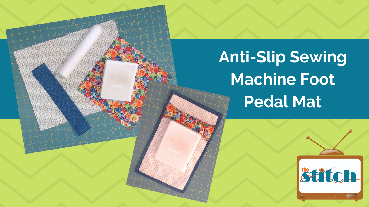Non-Slip Sewing Machine Foot Pedal Mat