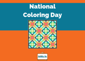 National Coloring Day is September 21!