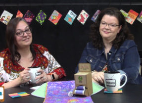 501: Fabric Postcards and Social Media Tips for Crafters