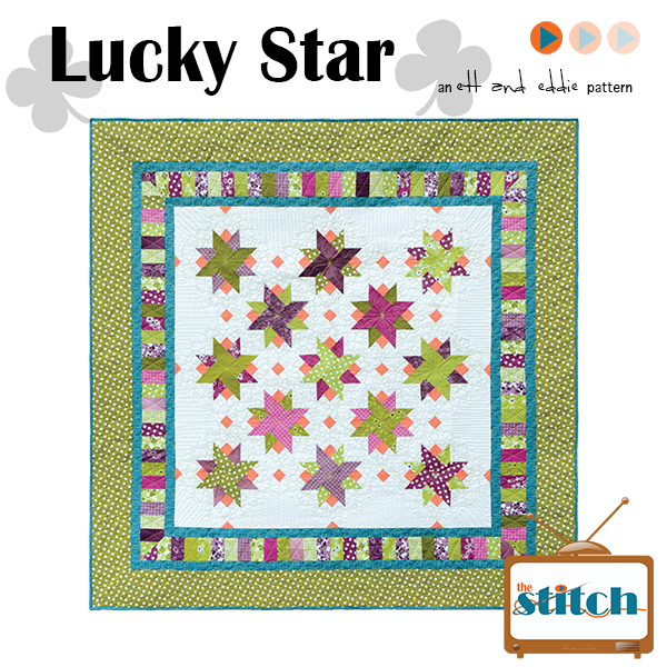 Lucky Star Quilt Pattern