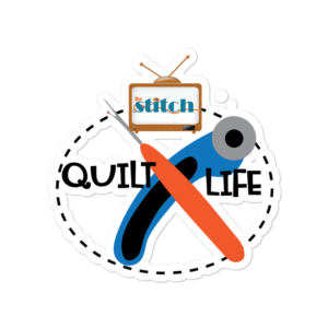 Quilt Life Vinyl Sticker
