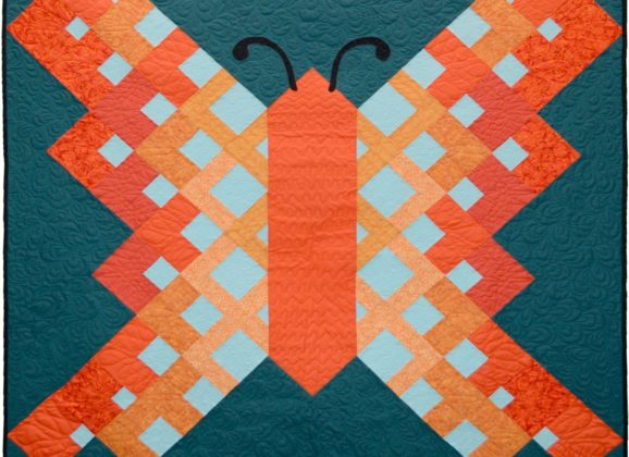 Introducing the Flight of Fancy Butterfly Quilt