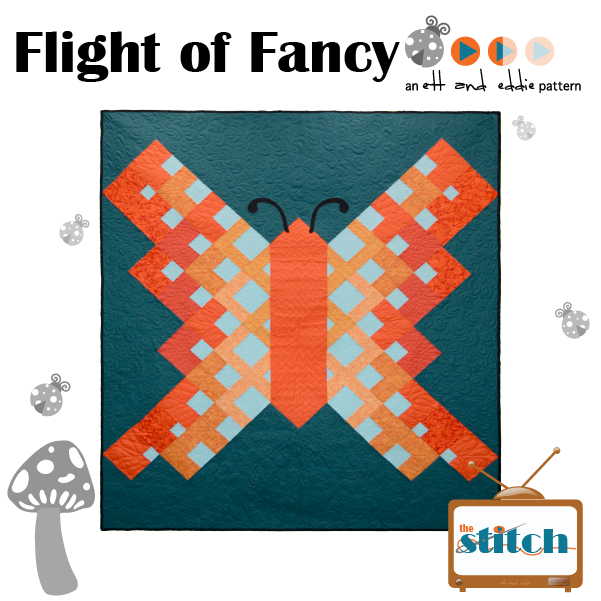Flight of Fancy Butterfly Quilt