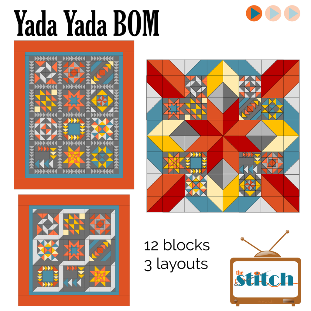 Yada Yada Quilt Block of the Month program