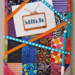 Quilted Memo Board, and Mounting a Quilt on Canvas