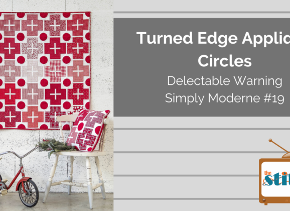 How to Make Turned Edge Applique Circles