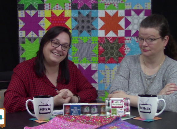 507: Holiday Sewing Projects and Using a Whole Fabric Line in a Quilt