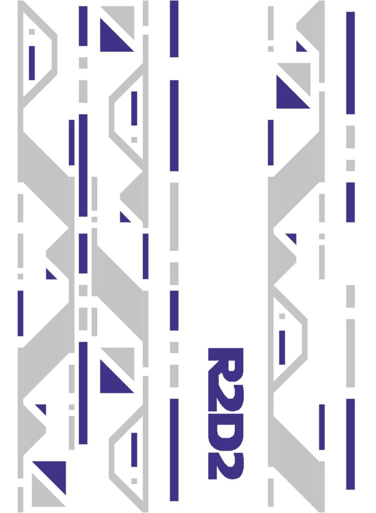 R2D2 Applique on the Droid Quilt