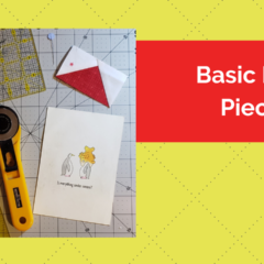 Basic Paper Piecing Tutorial – Making Flying Geese for Your Quilt