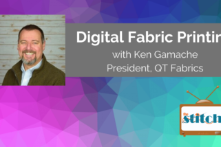 Learn about Digital Fabric Printing with Ken Gamache, President of QT Fabrics